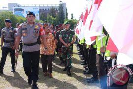 Ribuan Personel TNI-Polri Ikuti Apel Akbar Pengamanan Natal