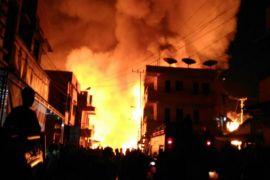 Kawasan Penduduk dan Perdagangan di Puruk Cahu Ludes Terbakar