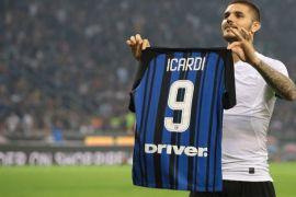 Kekecewaan Icardi terkait absennya Messi di pertandingan