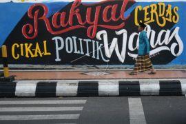 Mural Pesan Politik Cerdas