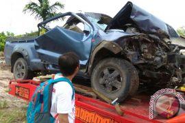 Tragis! Satu Orang Tewas Terjepit, Akibat Kecelakaan Maut