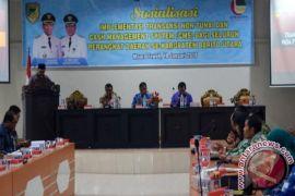 Pemkab Barito Utara Sosialisasikan Transaksi Nontunai