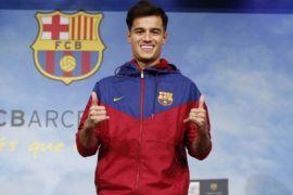 Sebelum Debut di Barcelona Coutinho Berlatih Bersama Tim