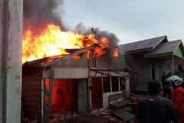 Polres Kotim Menyelidiki Penyebab Kebakaran di Sampit