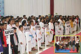 409 Atlet Karate-Do se-Kalteng Berebut Piala Kapolda Cup II