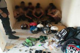 Pelajar Pemabuk, Satu Kabur 9 Berhasil Diamankan Polisi