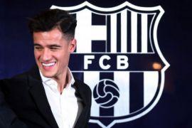 Coutinho Bernomor Punggung 14, Siap Debut Lawan Espanyol