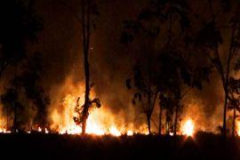 Kebakaran lahan kembali terjadi di Sampit