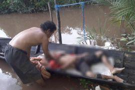 Pamit cari durian, warga Jabiren Raya ditemukan tewas mengenaskan dengan usus terburai