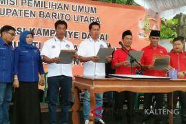 KPU Barito Utara gelar deklarasi kampanye damai