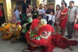 Bupati Kotim kunjungi tokoh Tionghoa rayakan Imlek