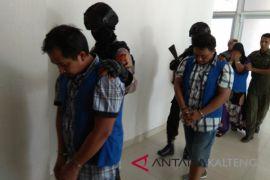 3 warga Kobar Jaringan narkoba antarnegara dibekuk BNNP Kalteng