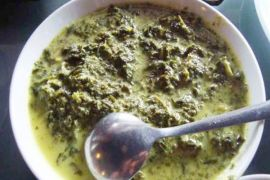 Karu`ang makanan khas favorit suku Dayak Ma`anyan