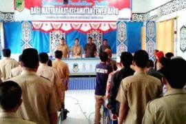 Jelang pilkada 2018, Pemkab Barut sosialisasi pendidikan politik warga Kecamatan