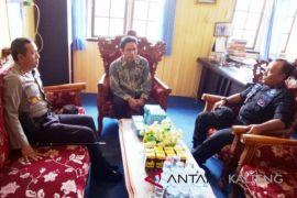 Wakapolda Temui Ketua KPU Kapuas