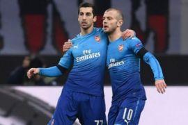 Arsenal melenggang ke perempat final, usai bungkam Milan