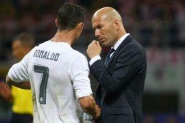 Zidane : Ronaldo berasal dari galaksi lain
