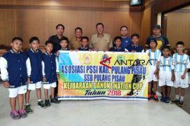 Tim U-12 Pulpis ikuti turnamen sepakbola Danone Nation Cup