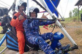 Lanud Iskandar Pangkalan Bun Perkenalkan Olahraga Aeromodelling dan Trike