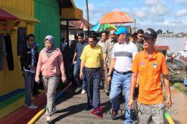 Kampung pelangi Sungai Arut Kobar 'disulap' jadi WFC