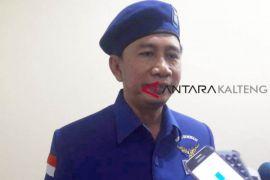 Menangkan pilkada serentak Kalteng, kata Ketua DPD Demokrat Kalteng