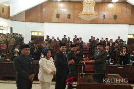 DPRD terima delapan Raperda Pemkab Kapuas