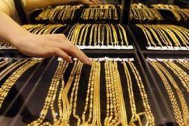 Harga emas naik berturut-turut