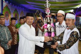 Juara umum MTQ Barito Selatan diraih Kecamatan Dusun Selatan