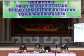 Pemkab Barsel sosialisasi regulasi pengelolaan keuangan daerah 2018