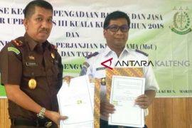 Kantor UPBU Kuala Kurun teken MoU dengan Kejari Gumas