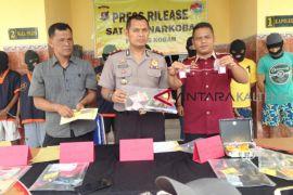 Hanya sehari, Polres Kobar ringkus 6 pengedar dan pengguna narkoba