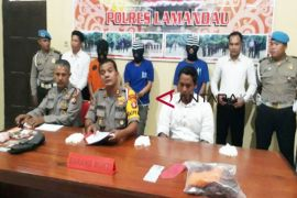 Polres Lamandau ungkap 3 kasus kejahatan selama Februari hingga Maret