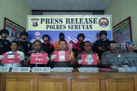 Polres Seruyan berhasil amankan 31 paket sabu-sabu siap edar