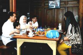 Wisata kuliner Presiden Jokowi di libur panjang