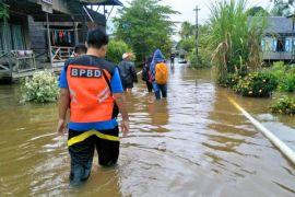 Banjir di Kalteng terkendali dan tinggi air cenderung turun