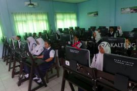 Hari pertama UNBK SMP di Kotim sempat terganggu ini