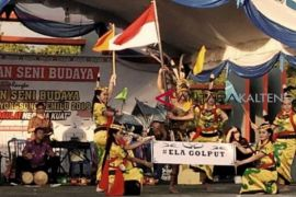Sosialisasi Pemilu 2019, KPU Gumas gelar seni budaya