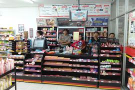 3 pelaku pembobol Alfamart di Palangka Raya terekam CCTV