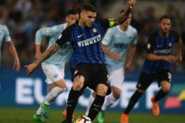 Kartu merah untuk Lazio, Inter Milan dapat keuntungan