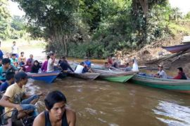 Anak tenggelam di Sungai Barito masih dicari
