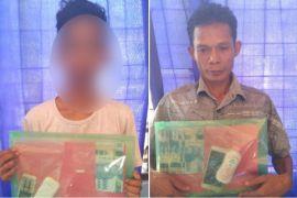Dua pengedar narkoba ditangkap Polisi Bartim