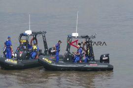 Ditpolairud siagakan personel di Pantai Ujung Pandaran selama libur lebaran