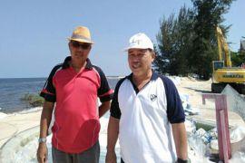 Abrasi Pantai Ujung Pandaran makin parah, mana bantuan Pemprov Kalteng?