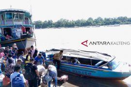 Penumpang kapal di Pelabuhan Buntok meningkat