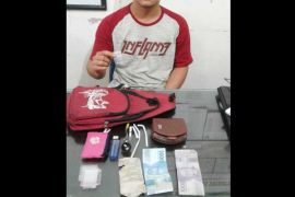 Polres Barito Utara tangkap pengedar sabu-sabu