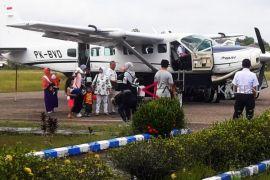 Bandara Beringin Muara Teweh sepi penumpang