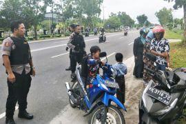 Beri rasa aman, puluhan polisi ditempatkan di objek wisata Palangka Raya