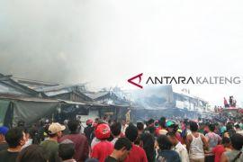 Lebaran ke-5 pasar di Palangka Raya terbakar