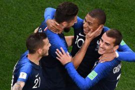 Mbappe bawa Prancis lolos 16 besar