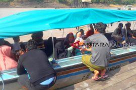 Penumpang kapal cepat Sungai Barito masih normal